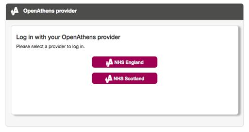 NHS England or Scotland